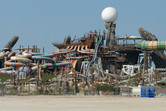 Yas Waterworld seen from the expansion area
